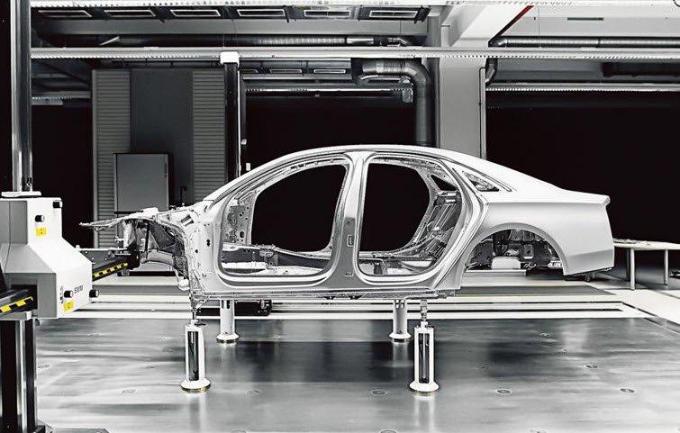 aluminium audi