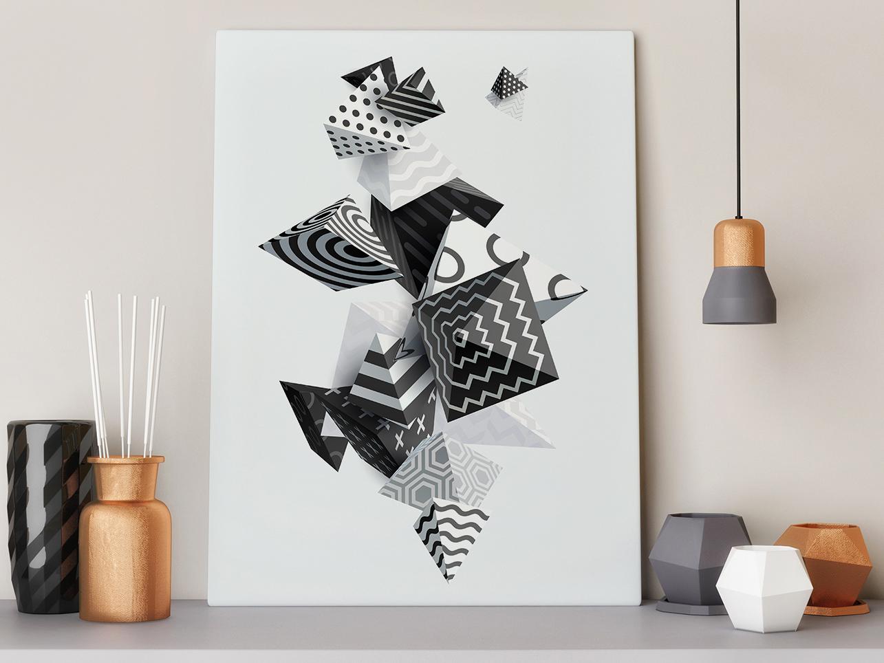 obraz abstrakcja 3d