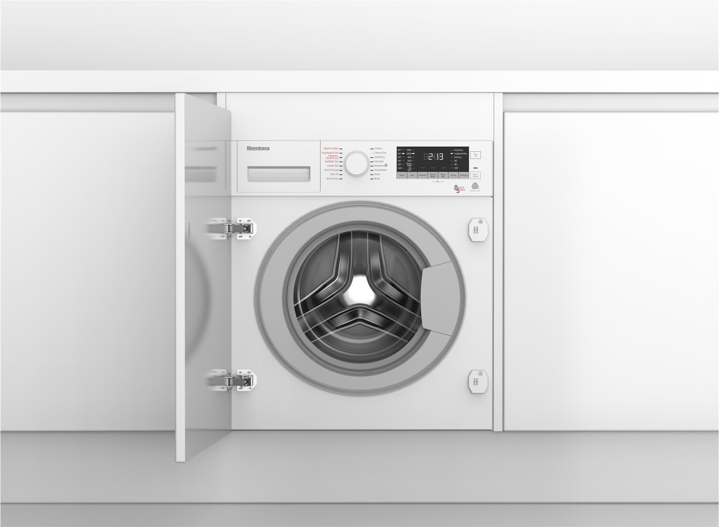 suszarka do prania w zabudowie