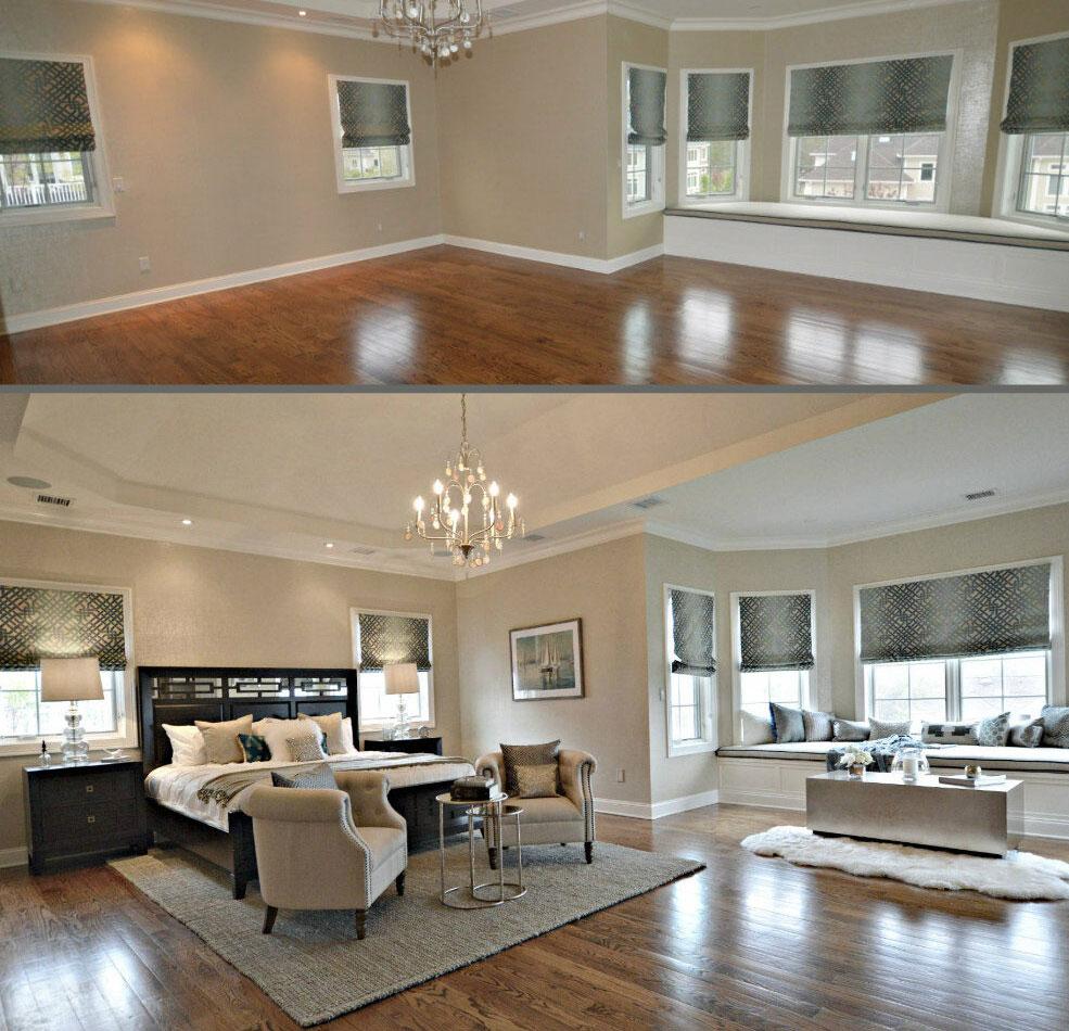 home staging - Przed i Po