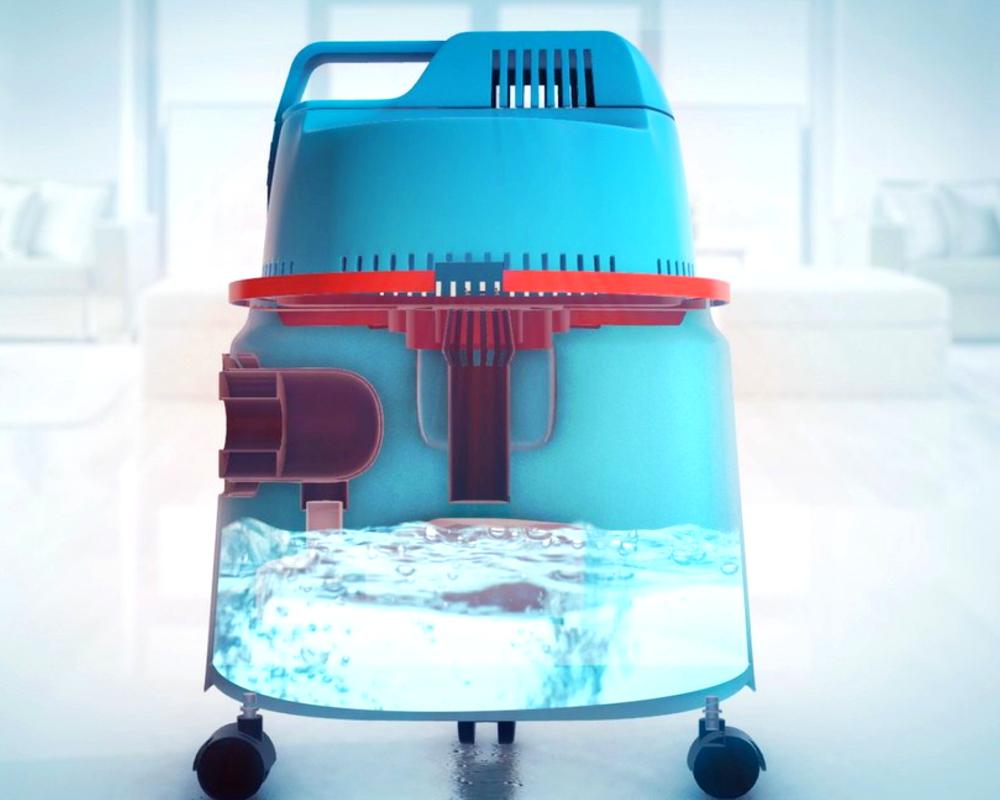 filtr wodny w odkurzaczu