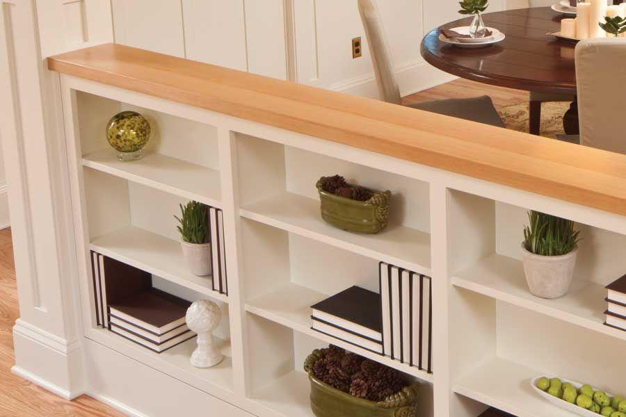 sposób na podział kuchni od salonu