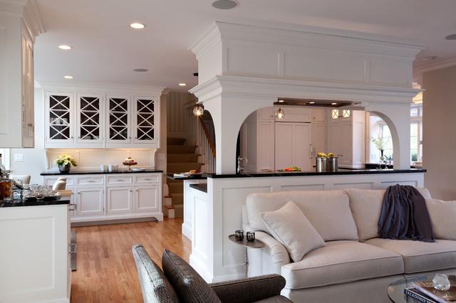sposoby oddzielenia kuchni od salonu
