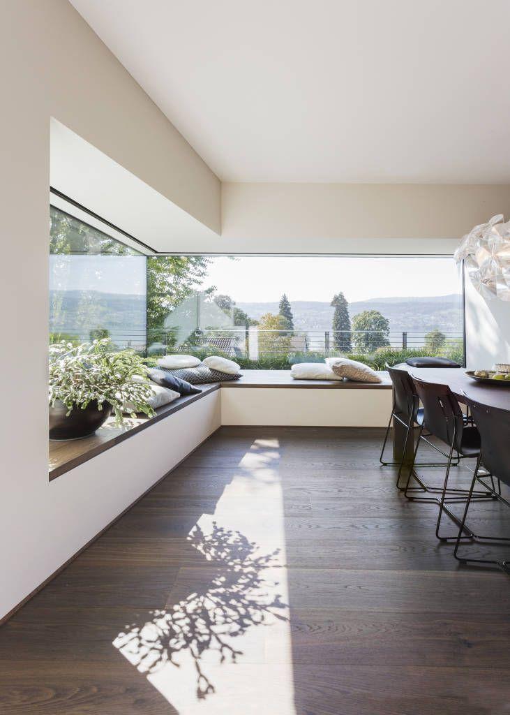 panoramiczne okno narożne