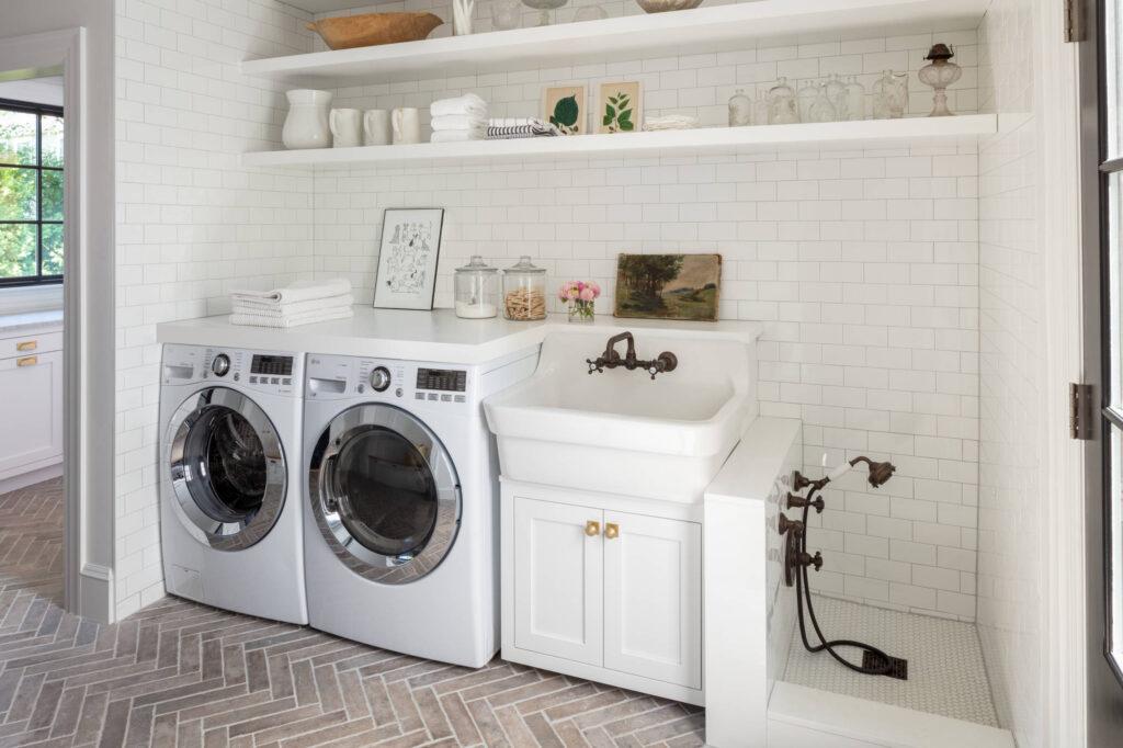 pralnia z umywalką
