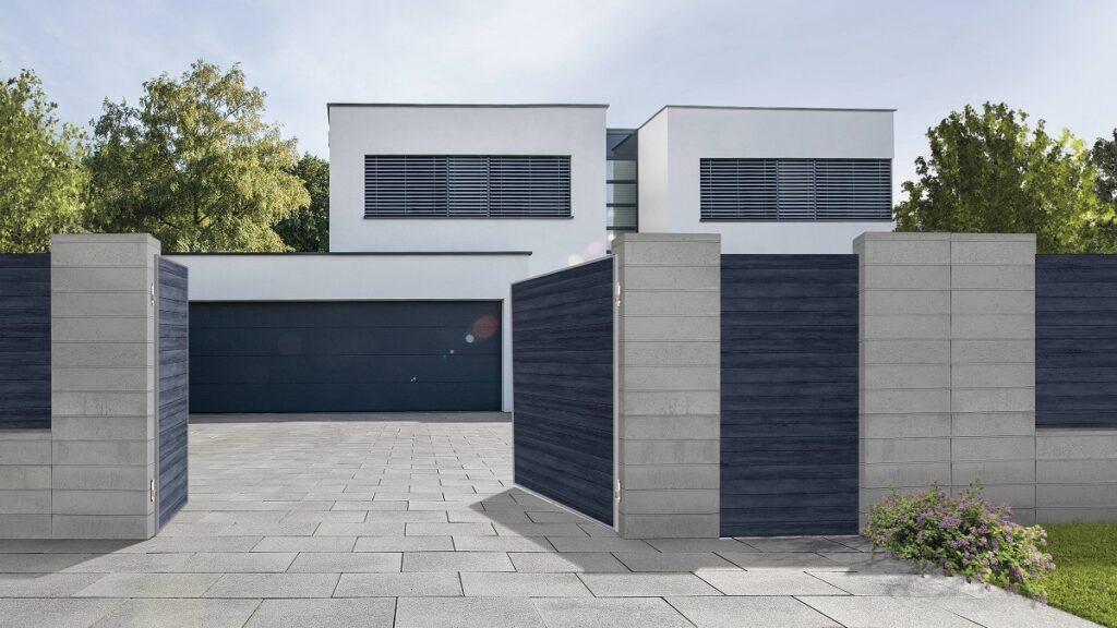SEM ogrodzenie Parretti beton architektoniczny